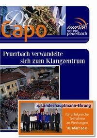 Da Capo 2011 Titelseite