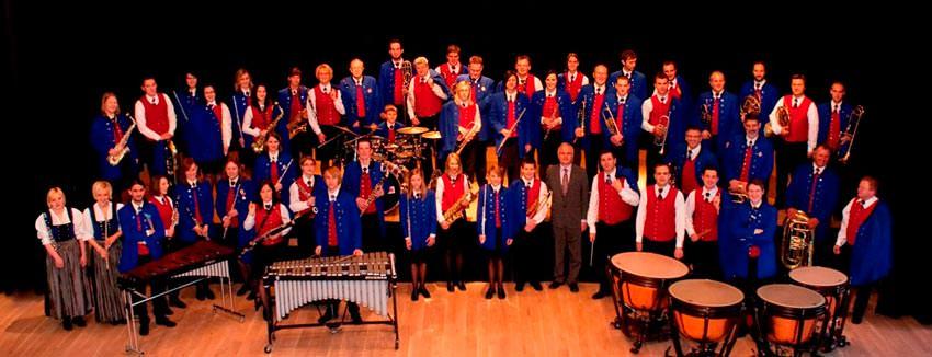 Gesamtes Blasorchester 2010