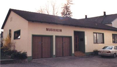 Musikheim vor dem Umbau